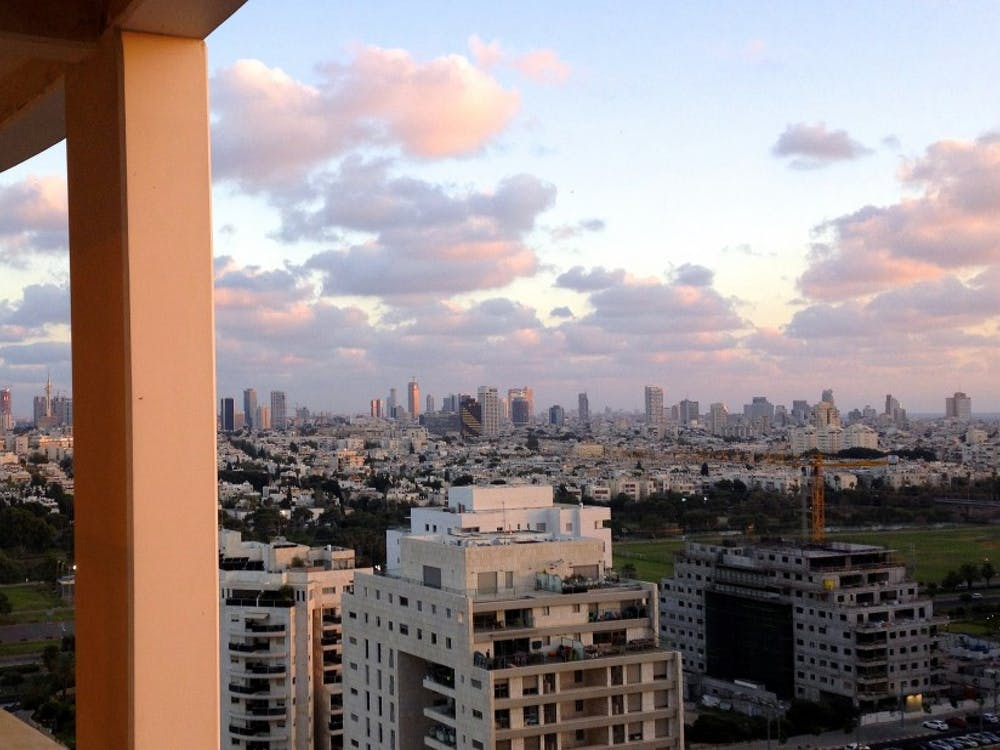 Living in the city of Tel Aviv for 10 weeks, senior Elissa Levine had a front row seat for this summer's turmoil between Israel and Palestine.
