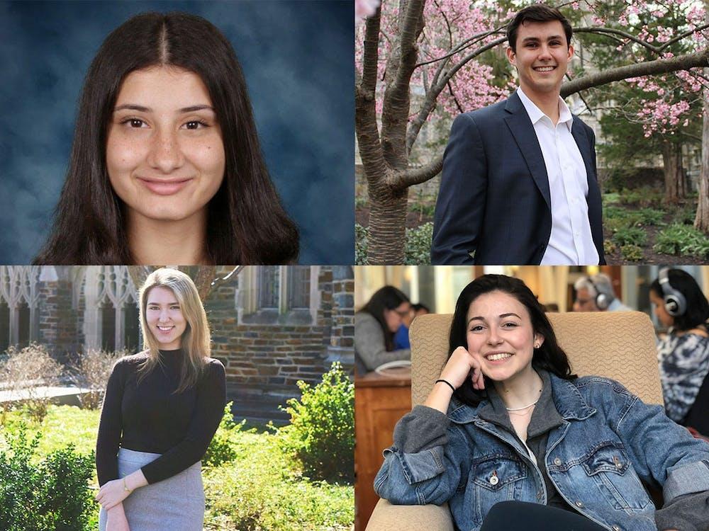 <p>Clockwise, from top left: Dina Qiryaqoz, Tommy Hessel, Kait Boncaro, Valeria Silombria</p>