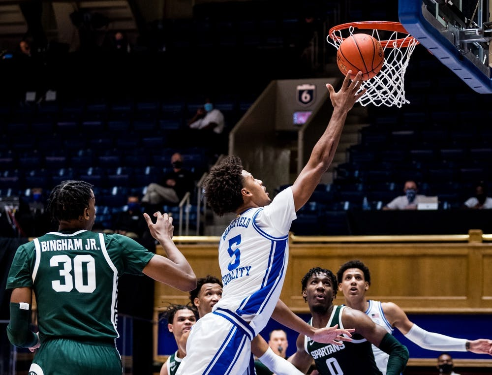 Brakefield averaged 3.5 points and 2.5 rebounds during his one and only season in Durham.