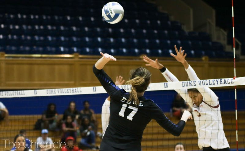 The Blue Devils have shown improvement at the net despite their recent losses.