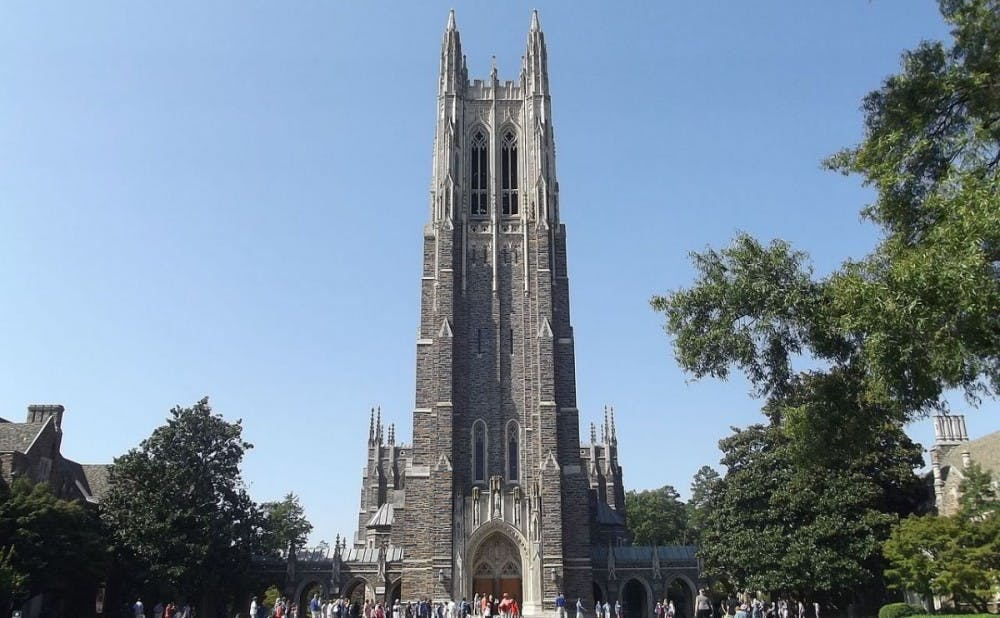 <p>The total cost for&nbsp;attending Duke during the 2017-18&nbsp;academic year&mdash;including tuition, room, board and fees&mdash;will be $68,298.</p>