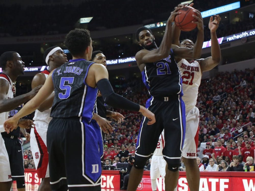 Junior Amile Jefferson is the only Blue Devil starter with a negative Plus/Minus rating.