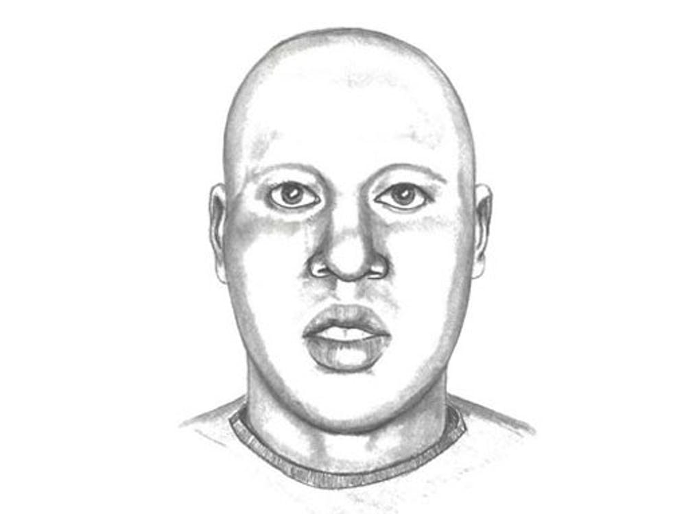 Duke Police created a composite sketch of the suspect in the September 22 armed robbery on Campus Drive.