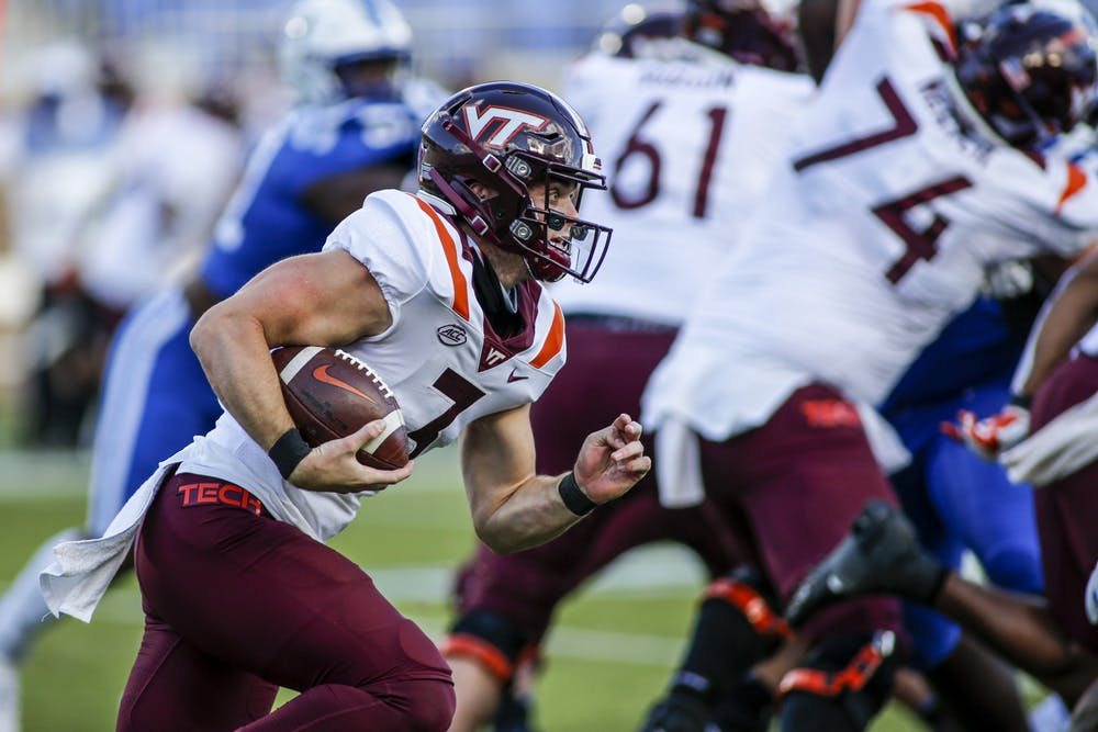 Duke Football Can T Finish Comeback Falls To Virginia Tech For 4th Straight Loss The Chronicle