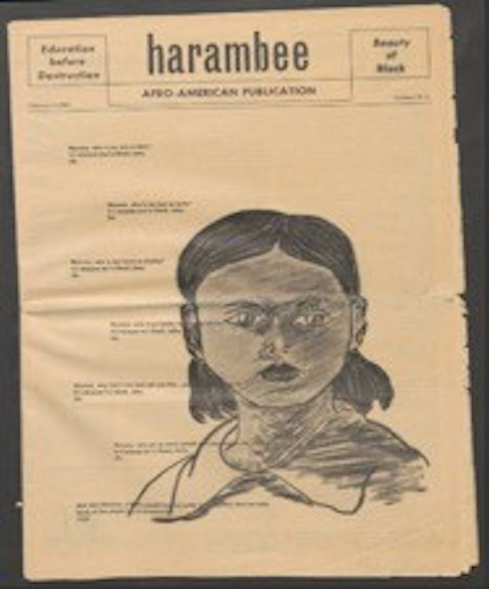 The cover of the magazine published during Black Week. Courtesy of Duke Archives.