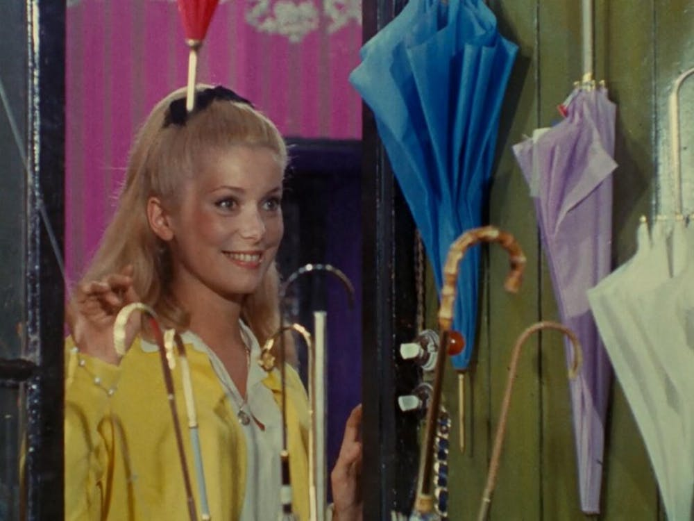 "Jacques Demy's ""The Umbrellas of Cherbourg"" is one of the films featured in this fall's Retro Film Series at the Carolina Theatre."