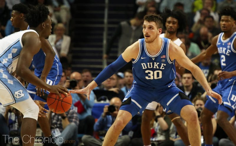 Antonio Vrankovic provided a much needed spark off the bench against North Carolina.