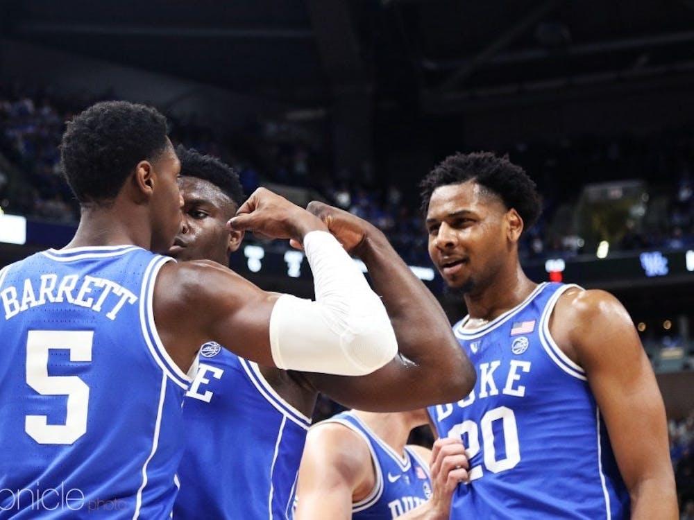 Duke seems to be an absolute powerhouse this season.