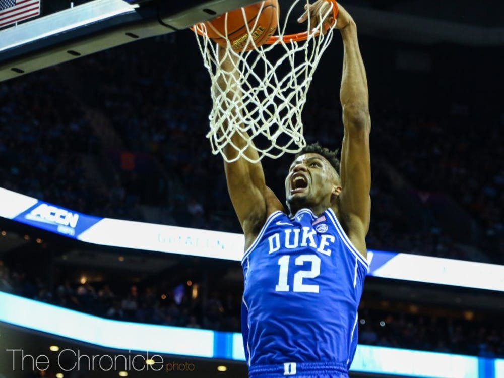 Javin DeLaurier could see big minutes in crunch-time if Vernon Carey Jr. doesn't live up to his potential.