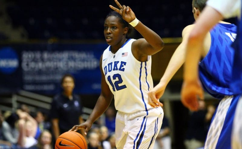 Chelsea Gray is thriving in her third WNBA season and was in the national player of the year discussion as a senior at Duke before she fractured her kneecap.