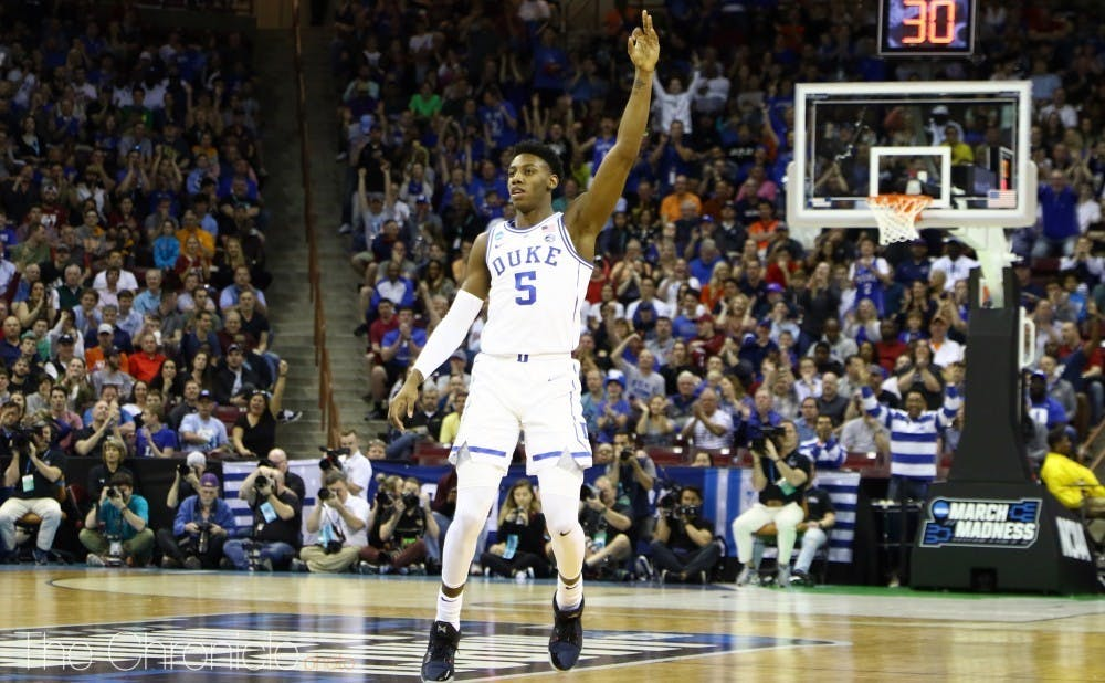 RJ Barrett helped lead the New York Knicks back to the playoffs for the first time since 2013.