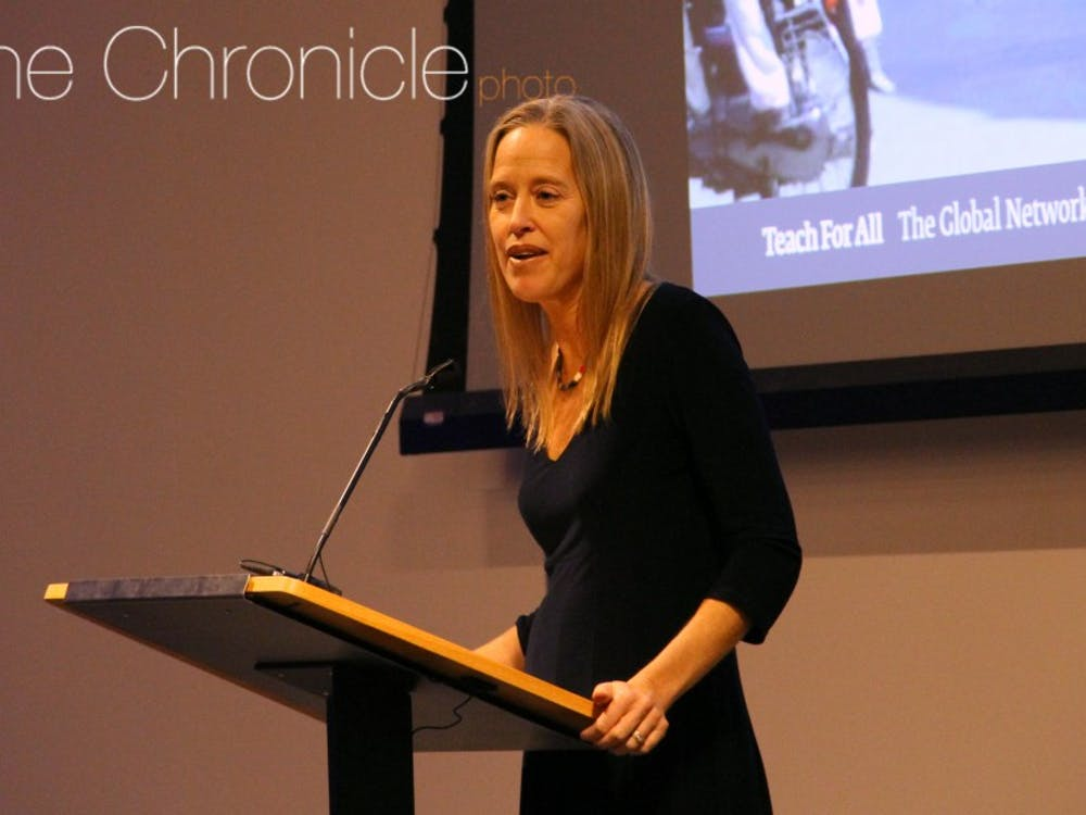 Wendy Kopp leads Teach for America, whichrecruits college graduates from top universities to serve as teachers in public schools for two years.