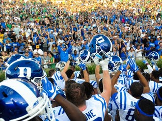 Covering Duke football's win at Notre Dame was one of the many highlights from sports editor Amrith Ramkumar's time at The Chronicle.