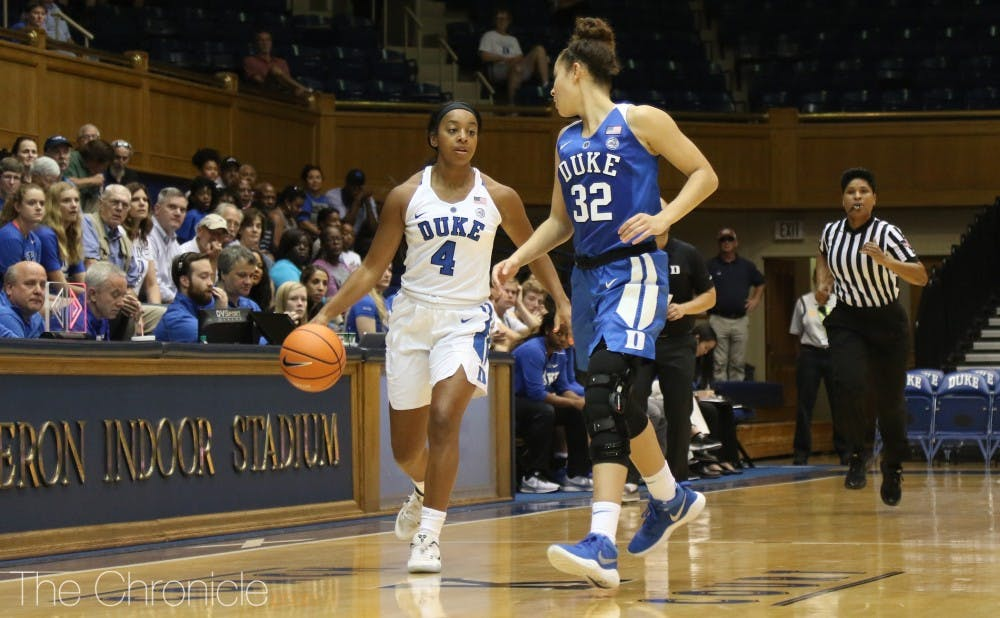 <p>Lexie Brown will be an integral player for the Blue Devils this year.</p>