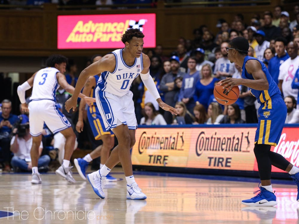 Wendell Moore and his fellow freshmen will need to carry the load for the Blue Devils.