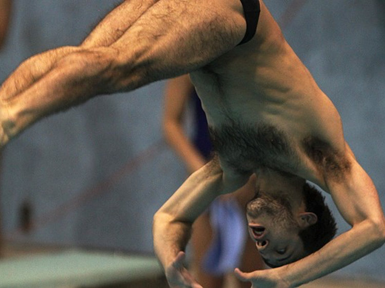 Nick McCrory won his third NCAA platform diving title this weekend.