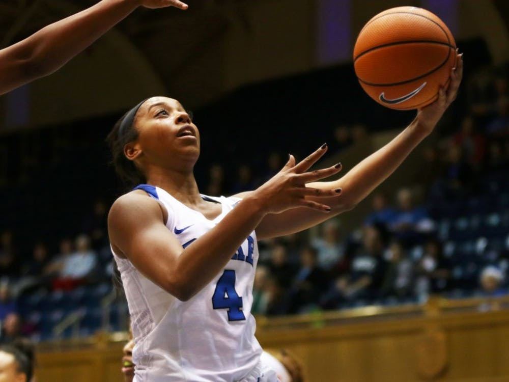 With backcourt mate Rebecca Greenwell sidelined, Lexie Brown picked up the slack to finish with 30 points and six assists.