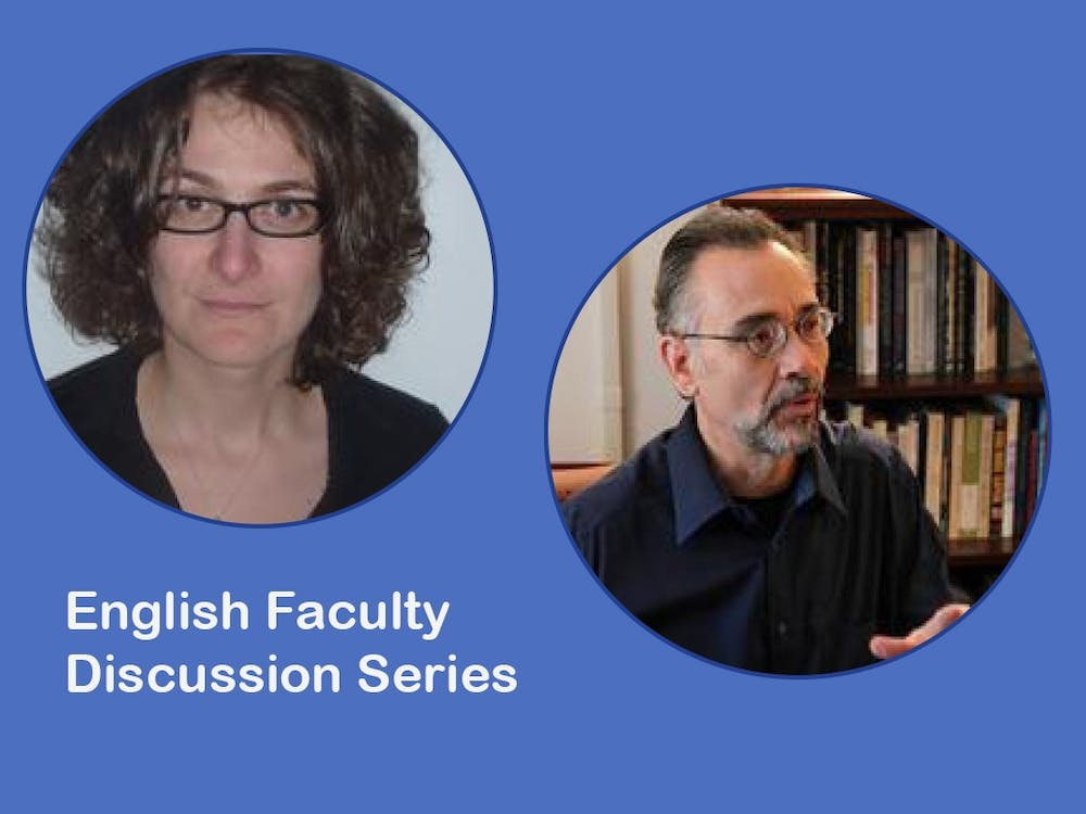 <p>The discussion series will feature talks from English faculty members, including Professors Corina Stan and Tom Ferraro.&nbsp;</p>