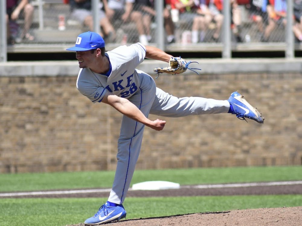 Bryce Jarvis struck out five in 2 2/3 innings of work against VCU.