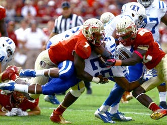 Last year, the Blue Devils had to follow up their sixth win by traveling to Tallahassee where they lost to then-No. 11 Florida State 48-7.