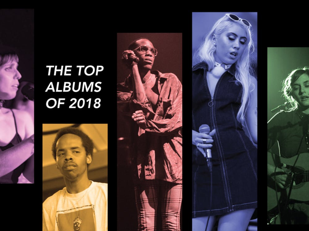 A number of artists released great albums in 2018. From left: U.S. Girls' Meg Remy, Earl Sweatshirt, Yves Tumor, Kali Uchis and Josephine Foster.