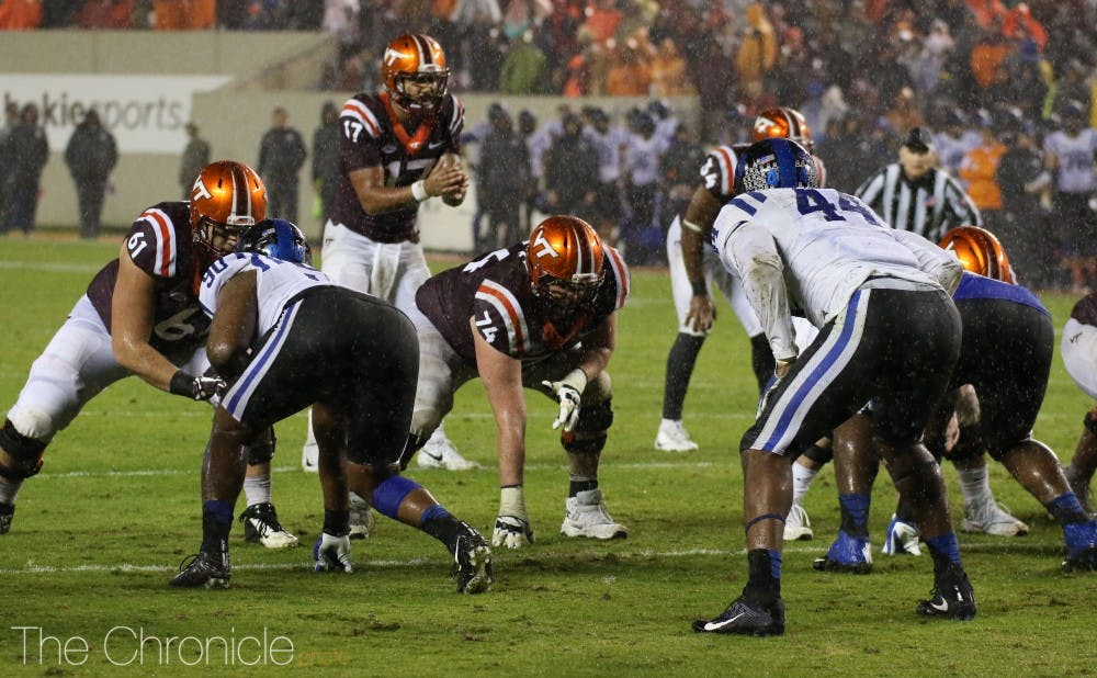 <p>Josh Jackson and the Virginia Tech offense had little trouble dealing with Duke.</p>