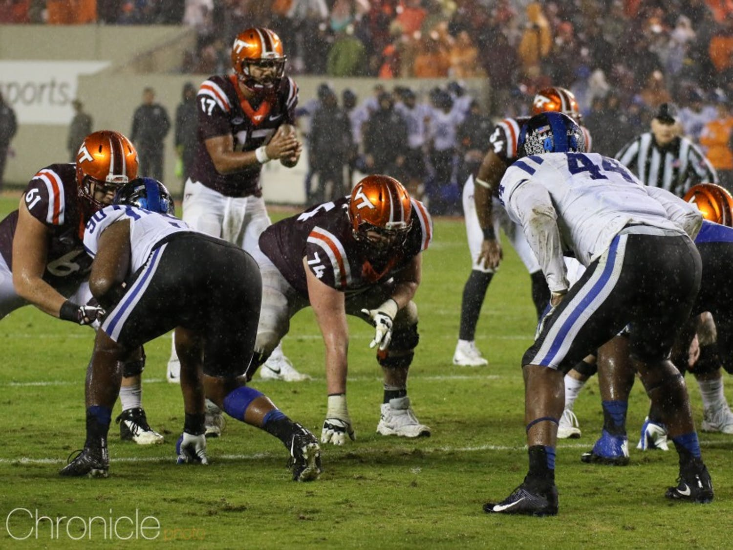 Josh Jackson and the Virginia Tech offense had little trouble dealing with Duke.