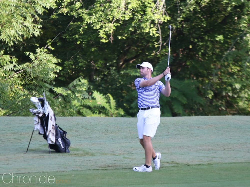 Alex Smalley set the Blue Devil scoring record for 36 and 54 holes this weekend.