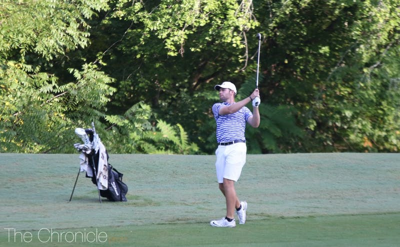 Alex Smalley was Duke's top individual this week, finishing in 12th place.