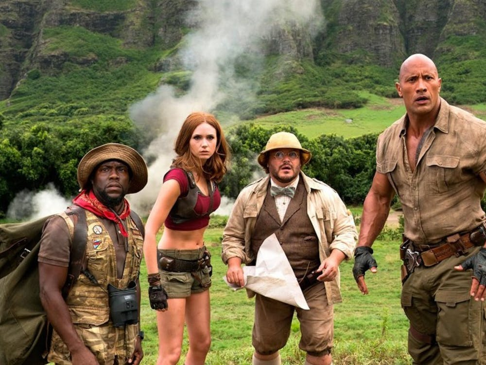 "The recent reboot of the 1995 adventure film ""Jumanji"" does little to go beyond its source material."