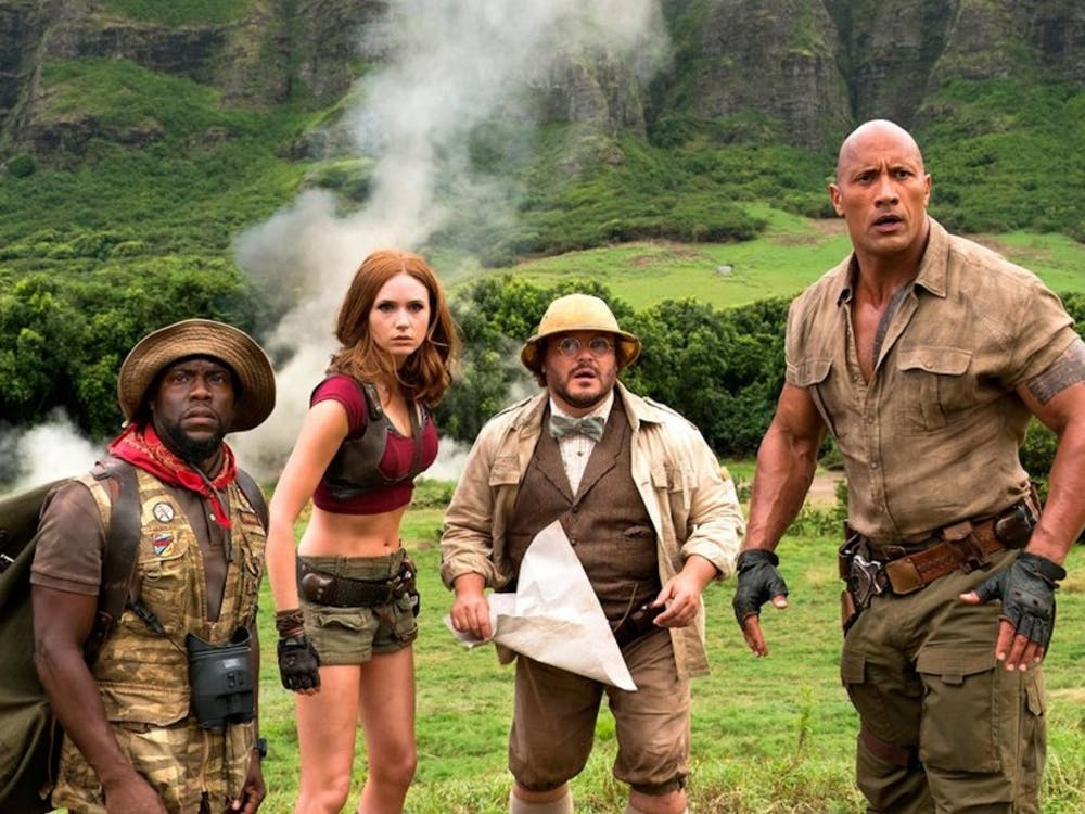 """The recent reboot of the 1995 adventure film """"Jumanji"""" does little to go beyond its source material."""