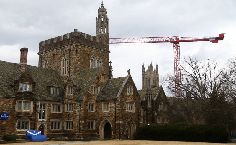 Students are upset about excessive light and noise in rooms on Kilgo Quadrangle caused by the ongoing West Union renovations.