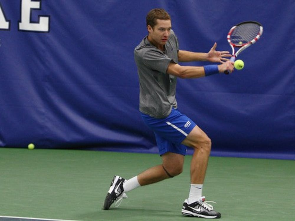 Senior Jason Tahir and junior Bruno Semenzato both dropped their main draw opening matchup, as Nicolas Alvarez advanced with a victory against California's Andre Goransson.