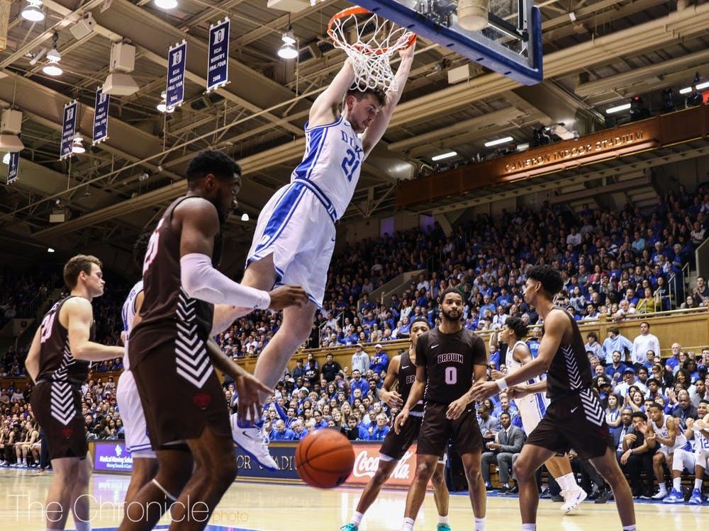 Duke's bench is averaging 25.3 points per game this season, the Blue Devils' highest bench output since the 2007-08 campaign