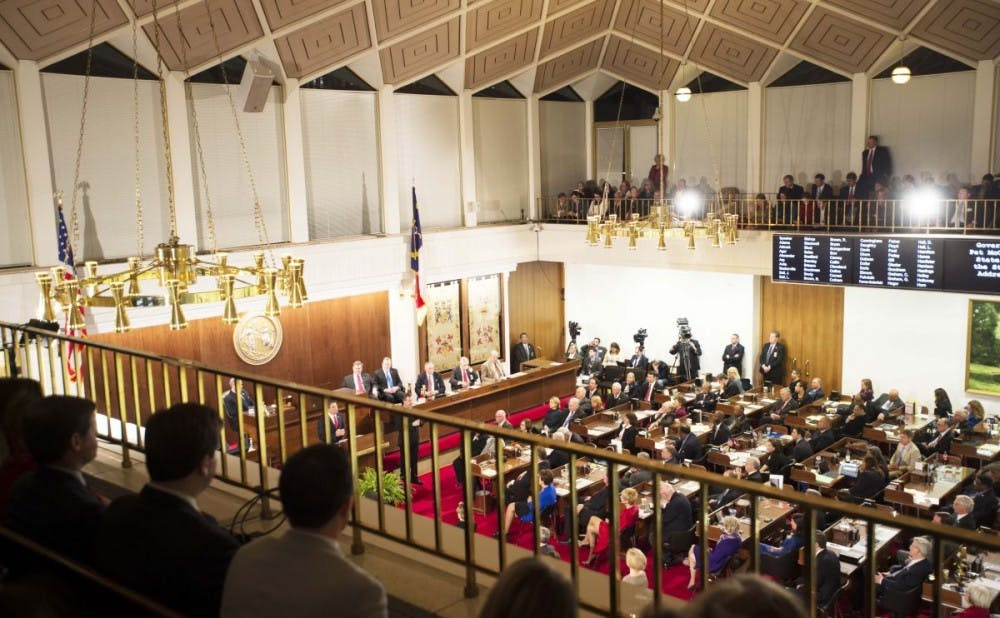 <p>North Carolina's General Assembly held a special session before controversial House Bill 2 was signed into law by Governor Pat McCrory.&nbsp;</p>