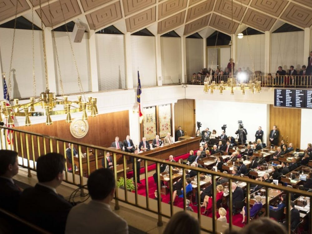 North Carolina's General Assembly held a special session before controversial House Bill 2 was signed into law by Governor Pat McCrory.