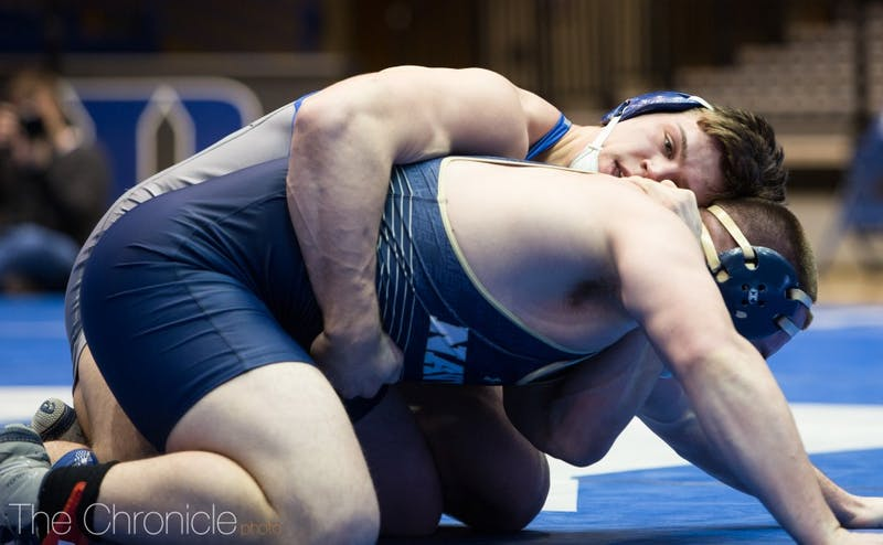 Jacob Kasper wrapped up his career as an All-American and the fourth-place heavyweight in the nation.