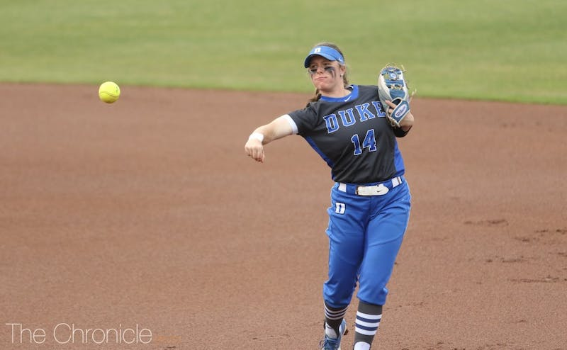 Raine Wilson had at least two hits in all three games of this weekend's series.