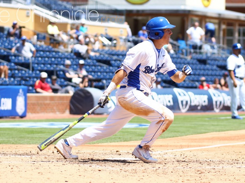 Although Peter Zyla and the Blue Devils capitalized on Wake Forest's miscues Saturday, they were the ones making mistakes all over the diamond Sunday.