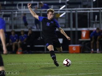 Duke men's soccer is looking for it's second victory over a top-10 team in just eight days.