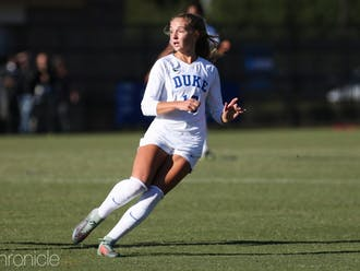 Senior defender Schuyler DeBree and the Blue Devils have yet to give up a goal in the NCAA tournament.