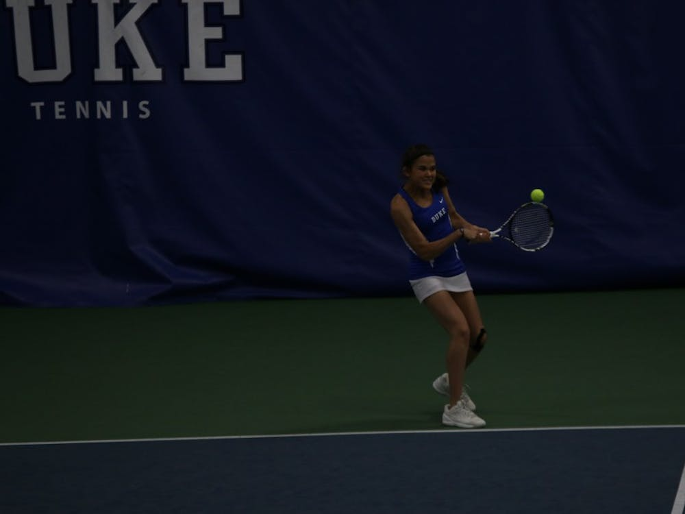 Redshirt freshman Christina Makarova eked out a three-set victory on court six to even the match at 2-2, but the Blue Devils could not capitalize on the mid-match momentum and fell 4-3 to No. 16 Georgia Tech Friday.