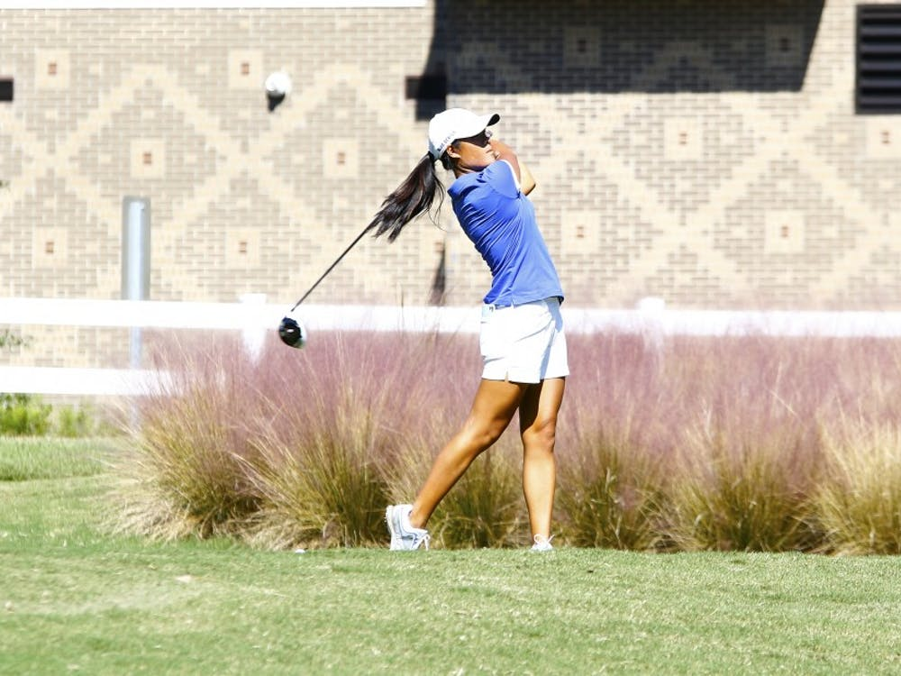 Senior Celine Boutier won the individual titleby 14 strokes when Duke won theLSU Golf Classic in March at the University Club.