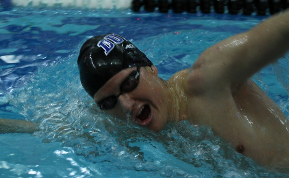 <p>The Blue Devils will compete in one final meet with the ACC championships around the corner.</p>