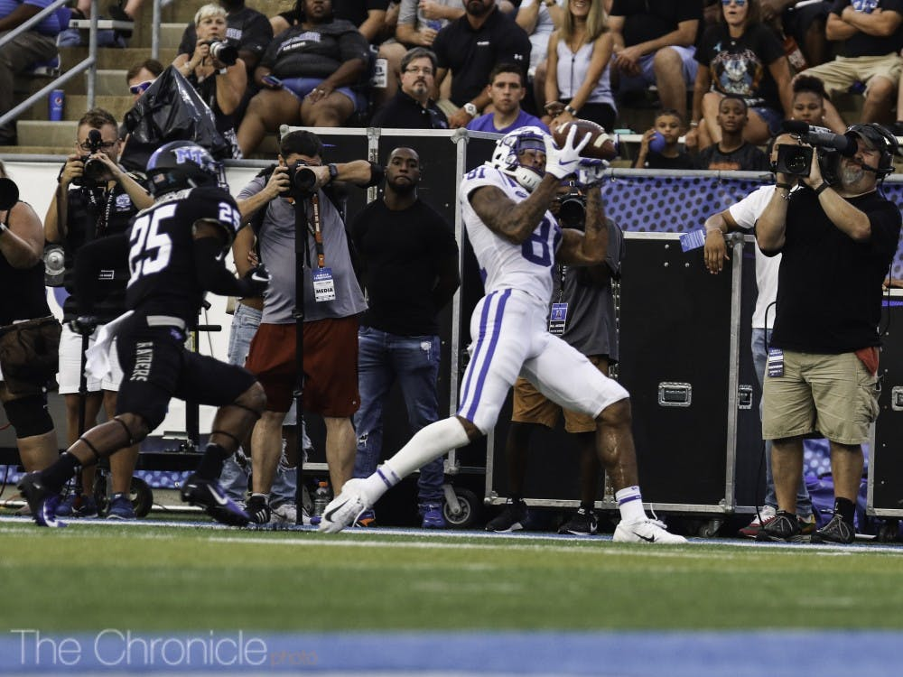 <p>Aaron Young stole the show Saturday.</p>