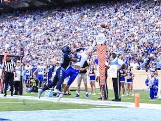 Duke will need to keep up with the Tar Heels through the air.