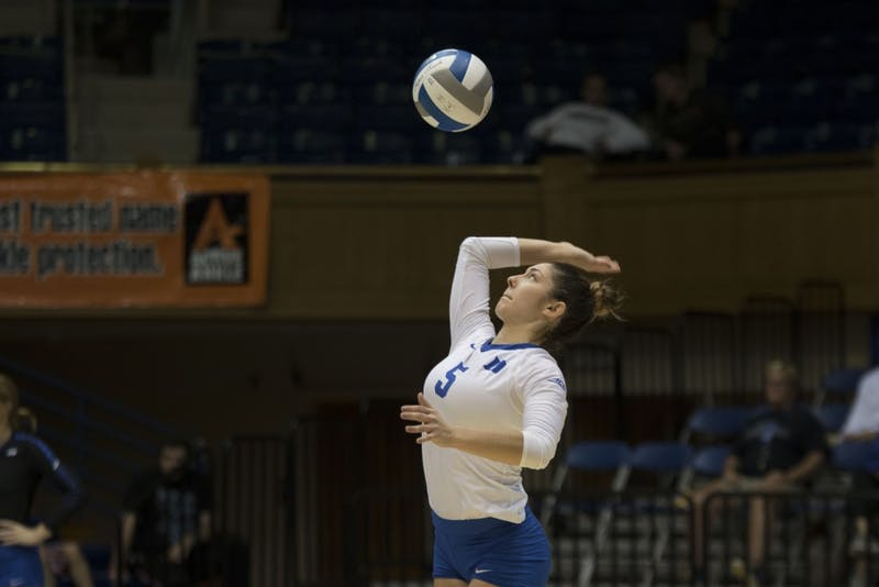 Nicole Ellatrache's veteran presense will be missed on a freshmen-heavy Blue Devils squad in 2018.