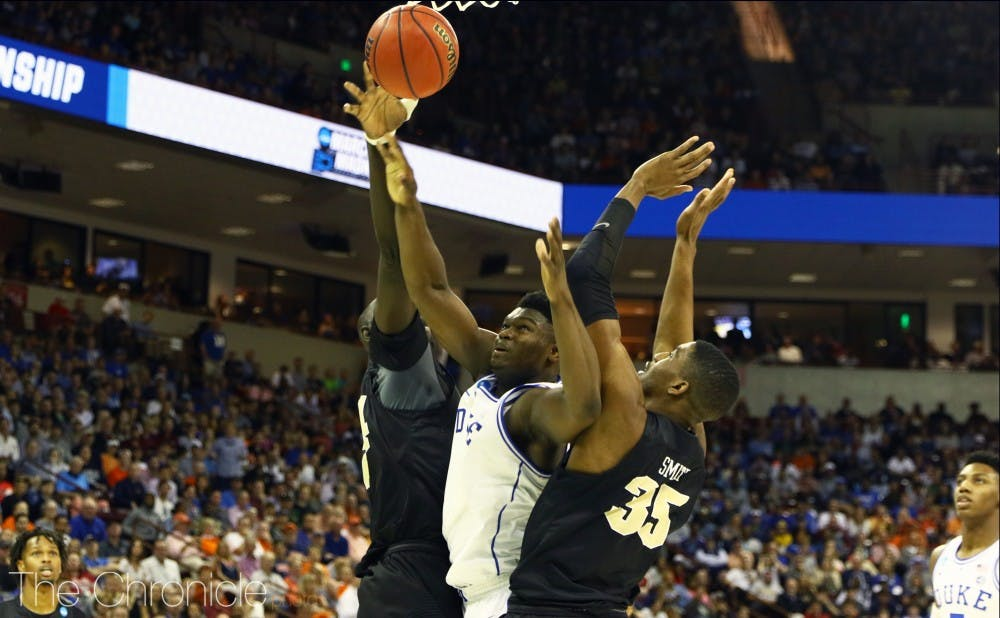 <p>While Tacko Fall might have slowed down Zion Williamson and the rest of the Blue Devils' post play last Sunday, there aren't many other teams left in the tournament that can replicate a 7-foot-6 rim protector.</p>