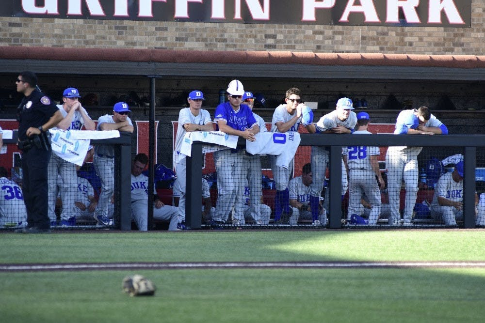 The Blue Devils' 6-2 loss to Texas Tech in the deciding game of the super regional kept Duke out of last year's College World Series.