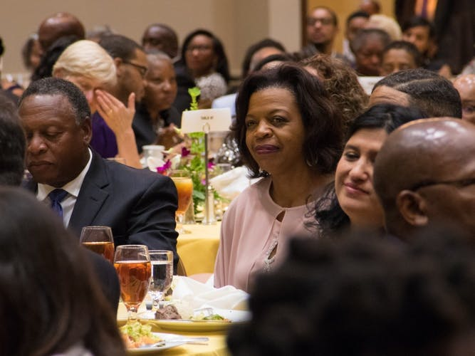 Kamala Harris Speaks At A Durham Committee On The Affairs Of Black People Banquet The Chronicle